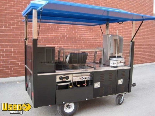 2010 - 4 x 8 x 8 Deluxe Self-Contained Towable Food Cart