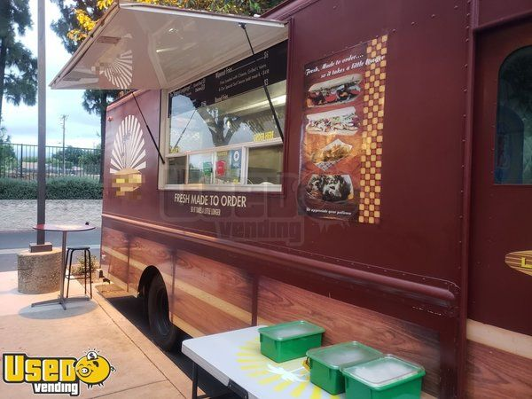 Chevrolet P30 Food Truck / Used Kitchen on Wheels with Pro Fire Suppression