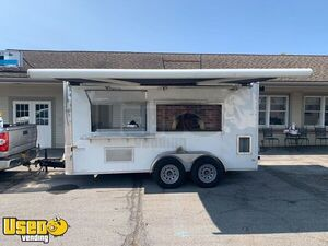 2018 - 6' x 14' Wood-Fired Pizza Concession Trailer / Mobile Pizzeria