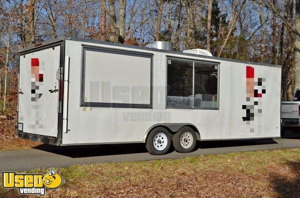 Fully Loaded and Efficient 2017 - 8' x 24' Catering and Pizza Food Trailer