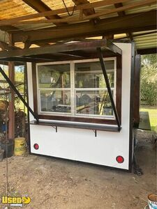 Newly Painted 7' x 7' Basic Street Food Concession Trailer