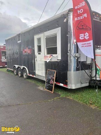 24' Haulmark Pizza Concession Trailer Mobile Pizza Unit, Pennsylvania