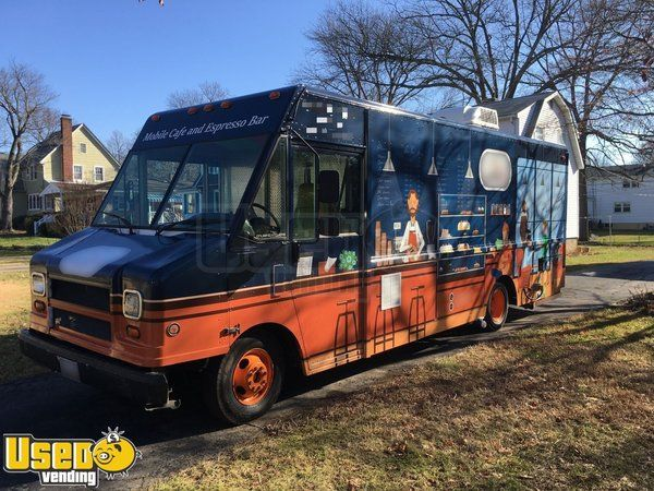 Super Clean 2003 Workhorse P42 26' Stepvan Coffee Truck/Used Mobile Cafe