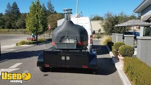 Valoriani Wood-Fired Pizza Oven Trailer / Mobile Pizzeria