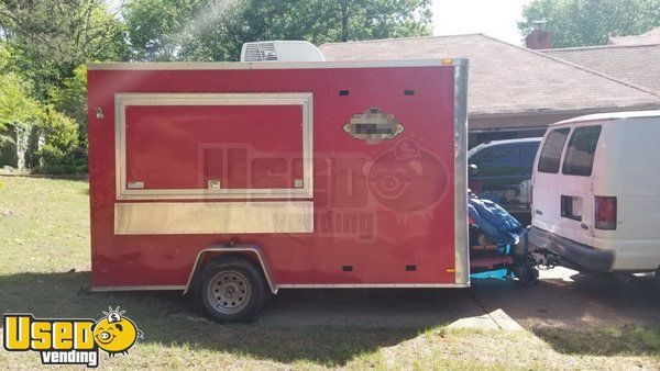 2015 Food Concession Trailer / Used 6' x 12' Mobile Kitchen Unit