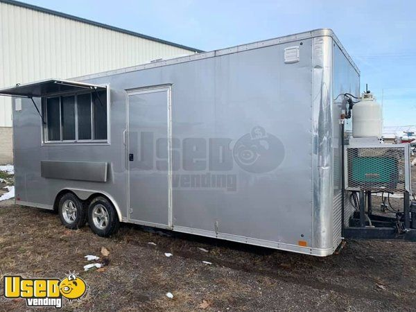 Brand New 8' x 20' Food Concession Trailer/Custom-Built Food Trailer