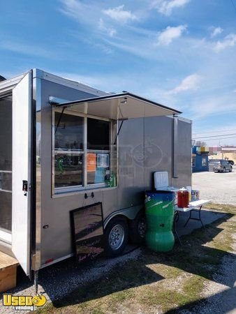 20' Mobile Kitchen Food Concession Trailer