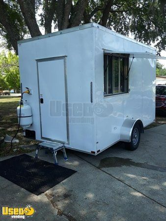 Brand New Ready for Business 2020 7' x 12' Food Concession Trailer