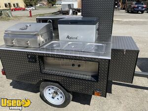 Brand New 2020 - 5' x 5' Hot Dog Concession Cart / NEW Street Food Cart