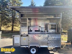 Used 2000 Mobile Hot Dog Food Vending Concession Cart