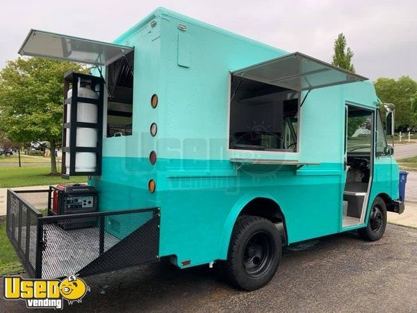 Low Mileage GMC Diesel Step Van Food Truck with a Commercial Kitchen