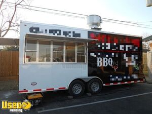 2010 - 8.5' x 20' Mobile Kitchen Food Concession Trailer w/ Stainless Steel Equipment