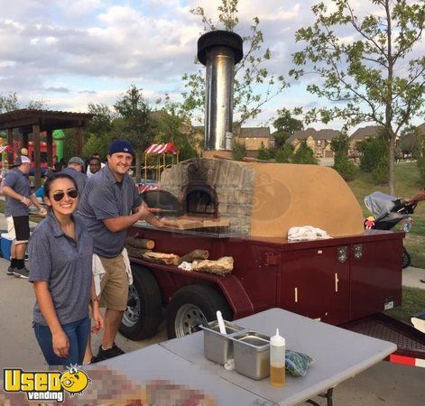 5' x 7' Wood Fired Pizza Oven Trailer / Cart