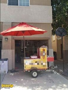 Ready for Business Hot Dog Mobile Food Vending Concession Cart