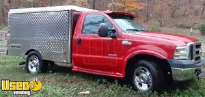 2006 Ford F350 Diesel Lunch Serving / Canteen Style Food Truck