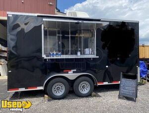 Lightly Used 2020 Cargo Craft 7' x 16' Inspected BBQ Concession Trailer