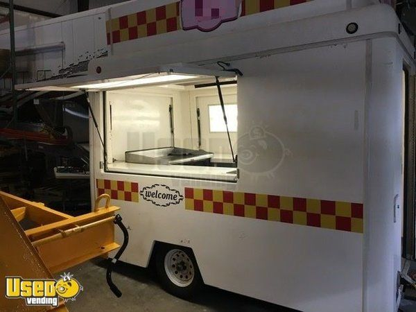 Lightly Used 2007 Fibrecore 6' x 10' Food Concession Trailer