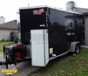 2017 - 7' x 12' Permitted Commercial Mobile Kitchen Food Concession Trailer