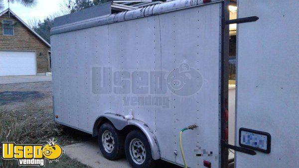 8' x 20' Pizza / Bakery Concession Trailer