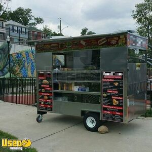 2015 Compact Food Concession Trailer/Street Food Cart Trailer