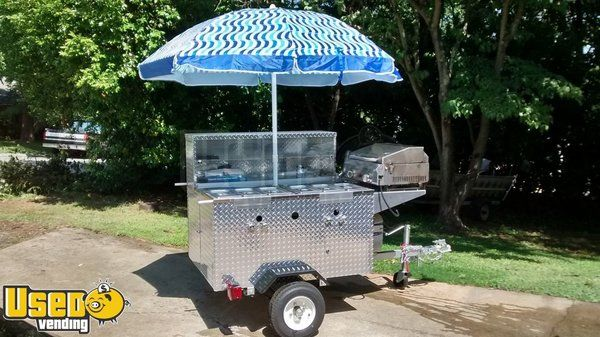 2015 - 57'' x 64'' Taco /  Hotdog Food Vending Cart