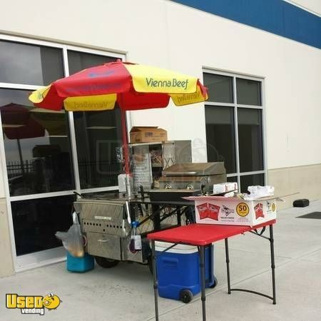 Turnkey Hot Dog Cart with Car Carolina