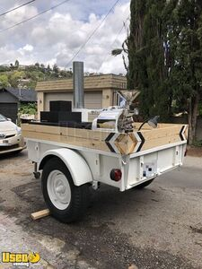 Refurbished 5.5' x 9' Durable Mobile Coffee Roaster Trailer / Cart