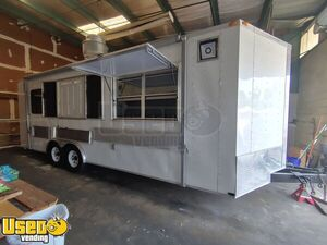 Fully-Loaded Used 2013 Lark 8.5' x 24' Kitchen Food Trailer