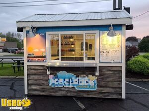 2012 - 8' x 10' Eye-Catching Shaved Ice Snowball Concession Stand