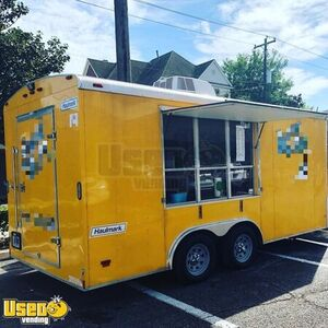 Turnkey 2013 Haulmark 7' x 14' Shaved Ice/Snowball Concession Trailer
