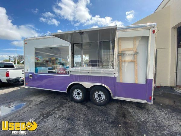 Mobile Ice Cream Business - 2 Rolled Ice Cream Concession Trailers