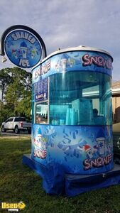 2000 Snowie 4' x 8' Shaved Ice Concession Trailer / Mobile Snowball Business