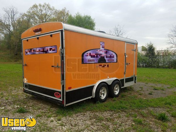 2006 - 8' x 16' Brick Oven Pizza Concession Trailer