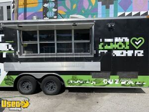 2017 - 32' Food Concession / Catering Trailer with Professional Kitchen