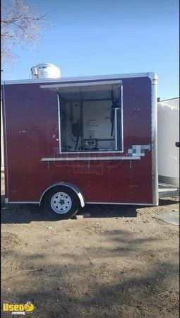 2016 Pace American Mobile Kitchen Street Food Concession Trailer