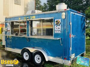 Ready to Operate 2014 Freedom 8' x 18' Kitchen Food Trailer