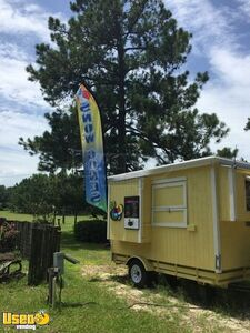 Never Used 2020 -5' x 10' Shaved Ice/Snowball Concession Trailer