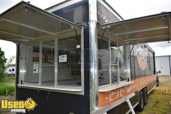 2009 Wells Cargo 8' x 32' Pizza Concession Trailer / Mobile Pizza Business