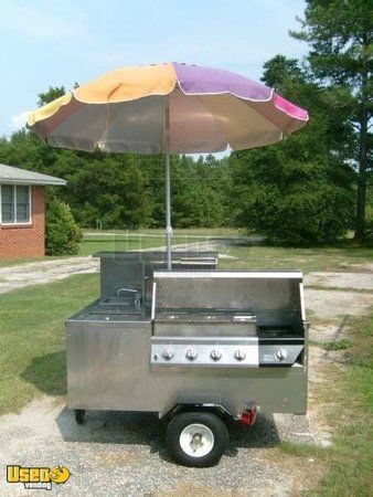 2010 Custom Built Hot Dog Cart