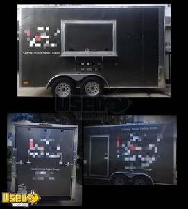 2019 - 7' x 14' Fully Loaded Food Concession Trailer / Commercial Mobile Kitchen