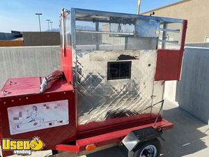 Inspected Hot Dog Concession Cart / Ready to Go Street Food Vending Cart