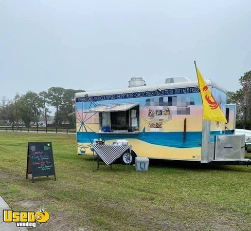 Turnkey Fully Equipped & Licensed 2018 Kitchen Concession Trailer