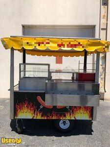 Silver Star G500 Street Food Vending Concession Cart