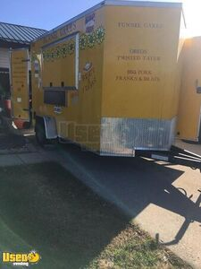 2018 Lark 6' x 12' Food Concession Trailer / Used Mobile Kitchen