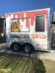 Ready for Business 2020 8' x 10' Waffle/Street Food Concession Trailer