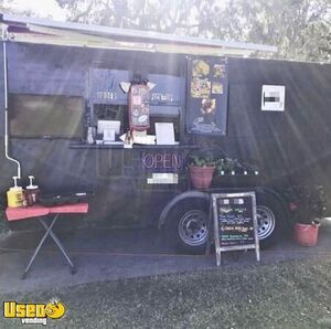 Used Mobile Kitchen Street Food Concession Trailer